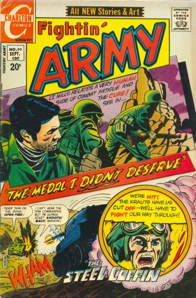 Cover for Fightin' Army (Charlton, 1956 series) #99