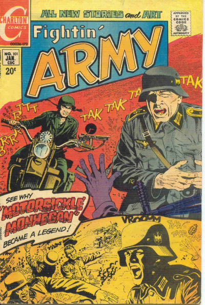 Cover for Fightin' Army (Charlton, 1956 series) #101