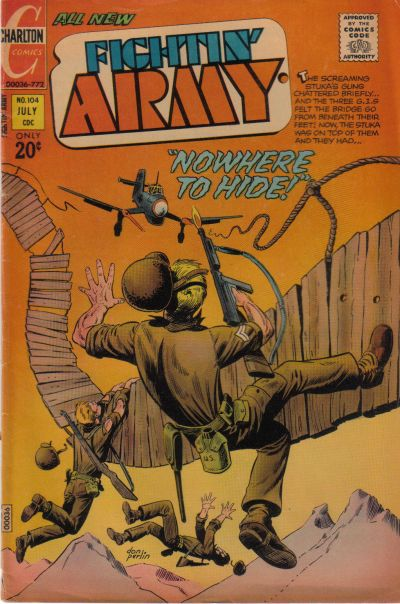 Cover for Fightin' Army (Charlton, 1956 series) #104