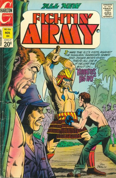 Cover for Fightin' Army (Charlton, 1956 series) #106