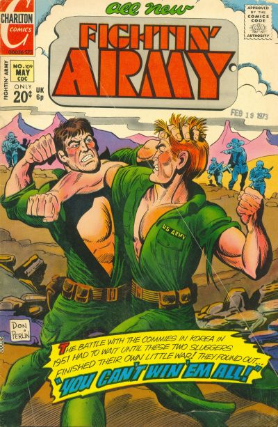 Cover for Fightin' Army (Charlton, 1956 series) #109