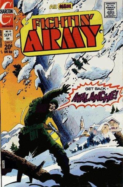 Cover for Fightin' Army (Charlton, 1956 series) #111
