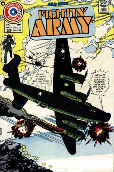 Cover for Fightin' Army (Charlton, 1956 series) #115