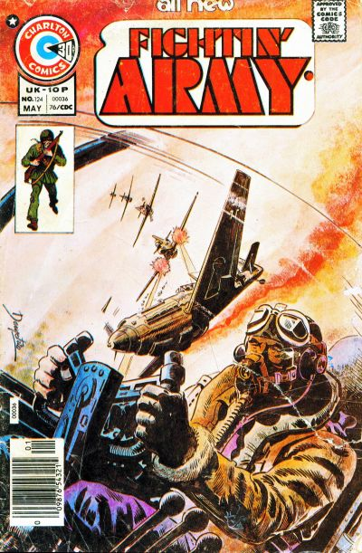 Cover for Fightin' Army (Charlton, 1956 series) #124