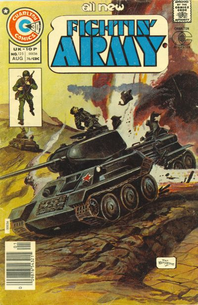 Cover for Fightin' Army (Charlton, 1956 series) #125