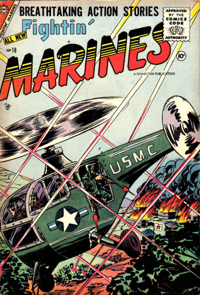 Cover for Fightin' Marines (Charlton, 1955 series) #18