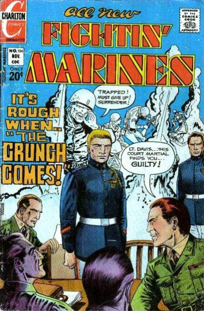 Cover for Fightin' Marines (Charlton, 1955 series) #106