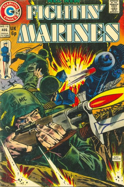 Cover for Fightin' Marines (Charlton, 1955 series) #118