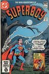 Cover for The New Adventures of Superboy (DC, 1980 series) #21 [Direct]