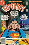 Cover Thumbnail for The New Adventures of Superboy (1980 series) #24 [Newsstand]
