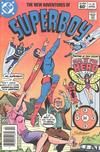 Cover Thumbnail for The New Adventures of Superboy (1980 series) #28 [Newsstand]