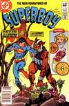 Cover Thumbnail for The New Adventures of Superboy (1980 series) #32 [Newsstand]