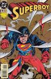 Cover for Superboy (DC, 1994 series) #5 [Direct Sales]