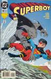 Cover for Superboy (DC, 1994 series) #9 [Direct Sales]