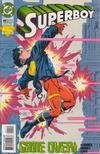Cover for Superboy (DC, 1994 series) #11 [Direct Sales]