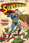 Cover for Superman (DC, 1939 series) #44