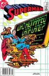 Cover for Superman (DC, 1939 series) #391 [Newsstand]