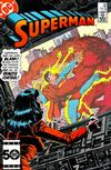 Cover for Superman (DC, 1939 series) #409 [Direct]