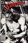 Cover Thumbnail for Superman (1939 series) #422 [Newsstand Edition]