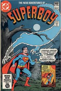 Cover Thumbnail for The New Adventures of Superboy (DC, 1980 series) #21 [Direct]