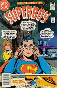 Cover Thumbnail for The New Adventures of Superboy (DC, 1980 series) #24 [Newsstand]