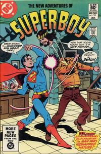 Cover Thumbnail for The New Adventures of Superboy (DC, 1980 series) #25 [Direct]