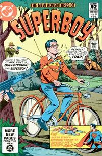 Cover Thumbnail for The New Adventures of Superboy (DC, 1980 series) #26 [Direct Sales]