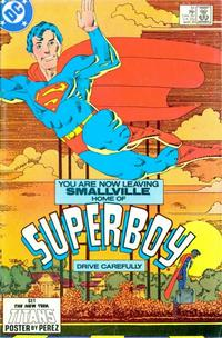 Cover Thumbnail for The New Adventures of Superboy (DC, 1980 series) #51 [direct-sales]
