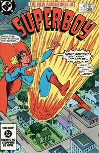 Cover Thumbnail for The New Adventures of Superboy (DC, 1980 series) #53 [Direct]