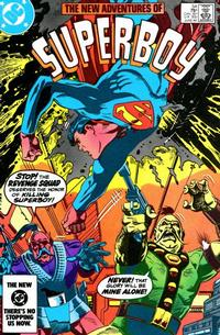 Cover Thumbnail for The New Adventures of Superboy (DC, 1980 series) #54 [Direct]