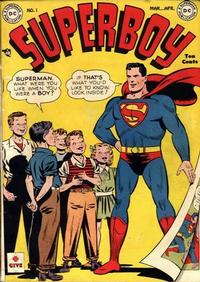 Cover Thumbnail for Superboy (DC, 1949 series) #1