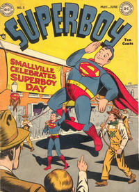 Cover Thumbnail for Superboy (DC, 1949 series) #2