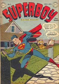 Cover Thumbnail for Superboy (DC, 1949 series) #3
