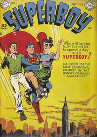 Cover Thumbnail for Superboy (DC, 1949 series) #4