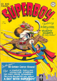 Cover Thumbnail for Superboy (DC, 1949 series) #7