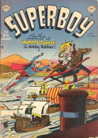 Cover Thumbnail for Superboy (DC, 1949 series) #9