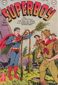 Cover Thumbnail for Superboy (DC, 1949 series) #13