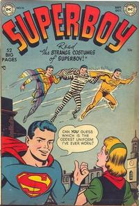 Cover Thumbnail for Superboy (DC, 1949 series) #16