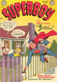 Cover Thumbnail for Superboy (DC, 1949 series) #18