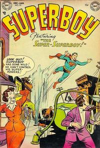 Cover Thumbnail for Superboy (DC, 1949 series) #23