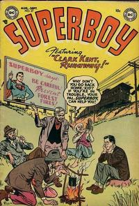 Cover Thumbnail for Superboy (DC, 1949 series) #27