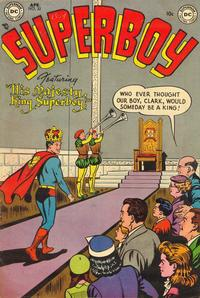 Cover Thumbnail for Superboy (DC, 1949 series) #32