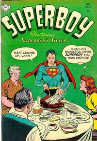 Cover Thumbnail for Superboy (DC, 1949 series) #36