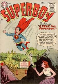 Cover Thumbnail for Superboy (DC, 1949 series) #45