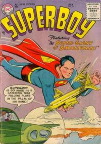 Cover Thumbnail for Superboy (DC, 1949 series) #50