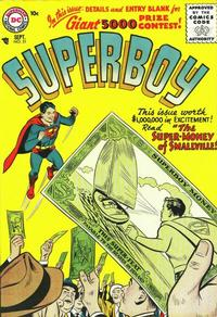 Cover Thumbnail for Superboy (DC, 1949 series) #51