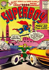 Cover Thumbnail for Superboy (DC, 1949 series) #52