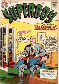 Cover Thumbnail for Superboy (DC, 1949 series) #55