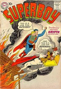 Cover Thumbnail for Superboy (DC, 1949 series) #56