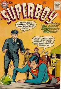 Cover Thumbnail for Superboy (DC, 1949 series) #58